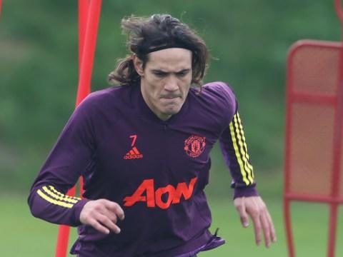 Ole Gunnar Solskjaer hopes for triple injury boost and provides update on Edinson Cavani's potential Man Utd debut