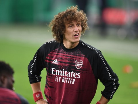 David Luiz rates Thomas Partey's full Arsenal debut and defends Bernd Leno after error in Rapid Vienna win