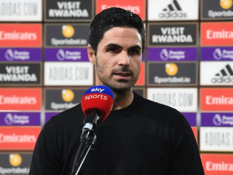 Mikel Arteta criticises Arsenal forwards after defeat to Leicester City