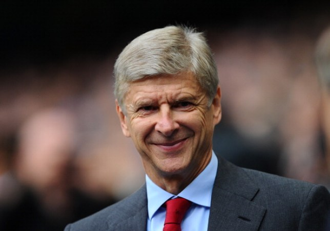 Wenger was forced out the door at the Emirates
