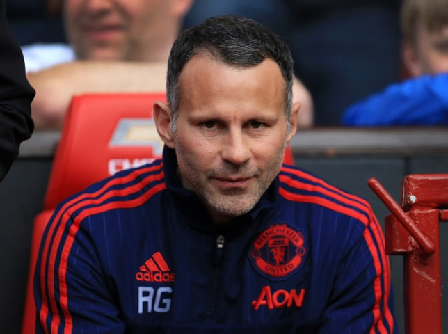 Ryan Giggs was Manchester United interim manager for four matches in 2013