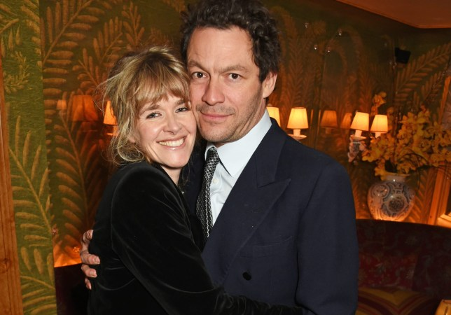Dominic West wife Catherine FitzGerald