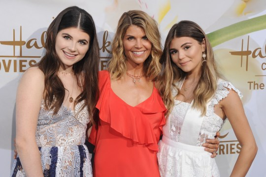 Lori Loughlin and her daughters Isabella and Olivia Jade