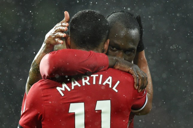 Romelu Lukaku has noted Anthony Martial's development at Manchester United