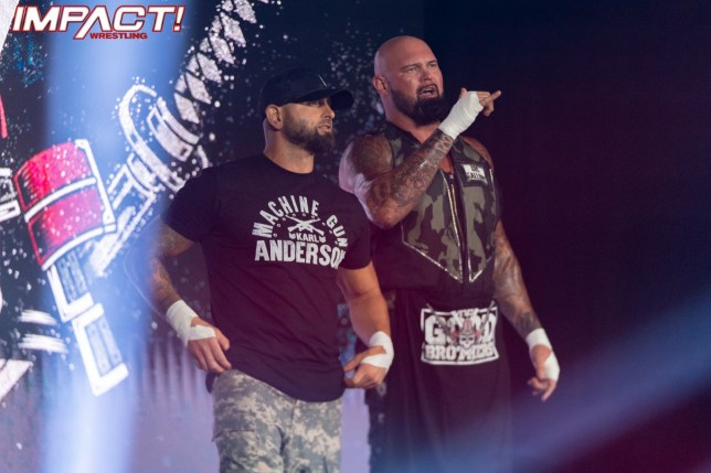 IMPACT Wrestling star The Good Brothers - Karl Anderson and Doc Gallows