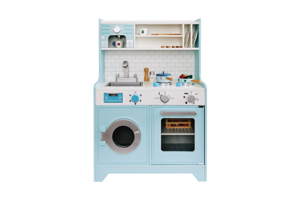 Kids Toy Kitchen with coffee maker by Great Little Trading Co