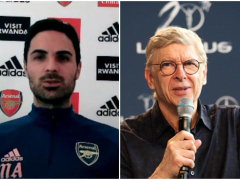 Mikel Arteta keen for Arsene Wenger to return to Arsenal