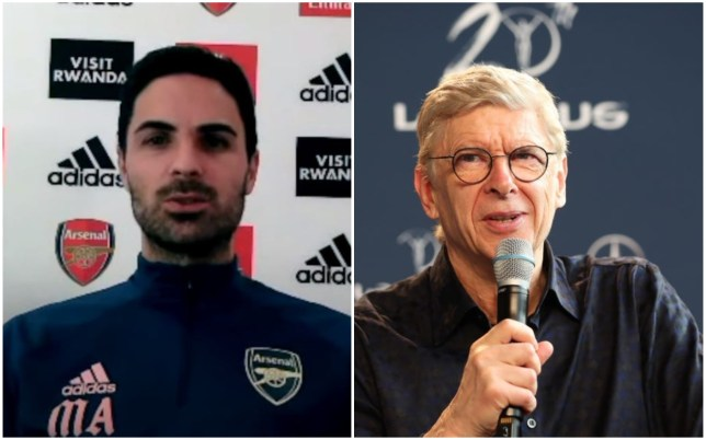 Mikel Arteta wants Arsene Wenger back at Arsenal
