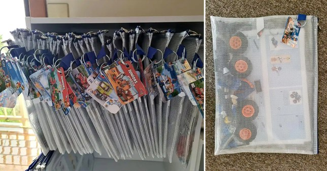 Mum's hack to organise Lego