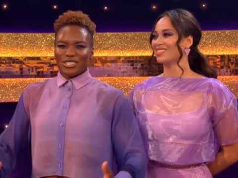 Strictly 2020: Nicola Adams emotional as she takes on first Couple's Choice with Katya Jones