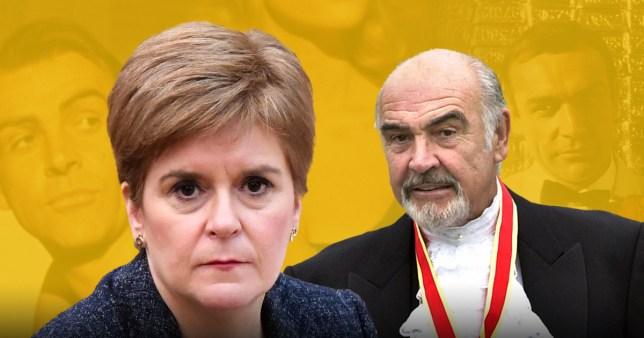Nicola Sturgeon paid tribute to Sean Connery