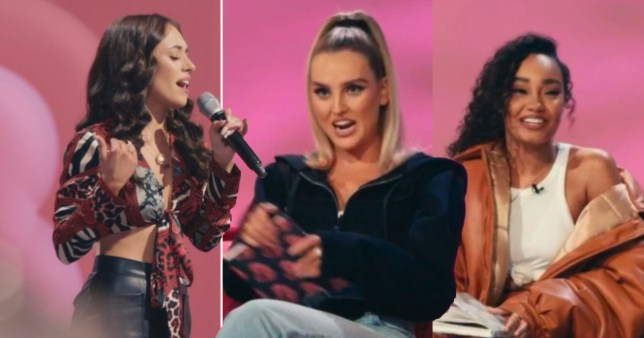 Perrie and Leigh-Ann clash over singer on Little Mix: The Search