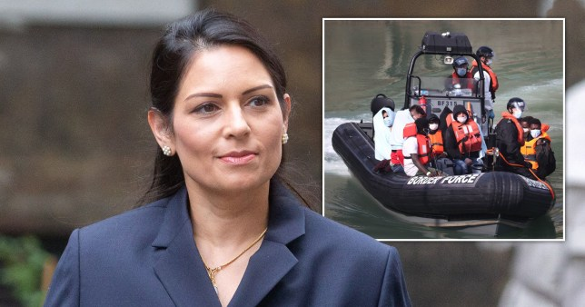 The Home Secretary Priti Patel is expected to use her Conservative party conference speech to outline changes to the asylum system