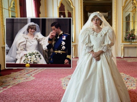 The Crown's Emma Corrin reveals she asked her mum to attend wedding dress fitting for Princess Diana role
