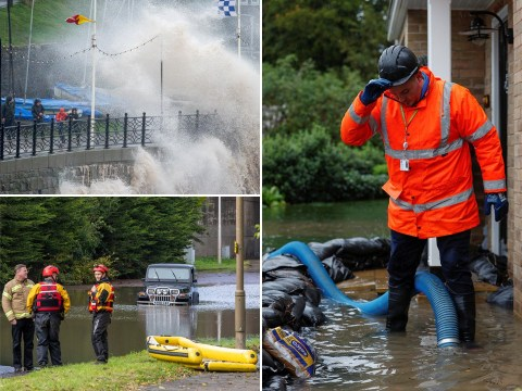 Amber 'danger to life' warning extended as Storm Alex sparks 73 flood alerts