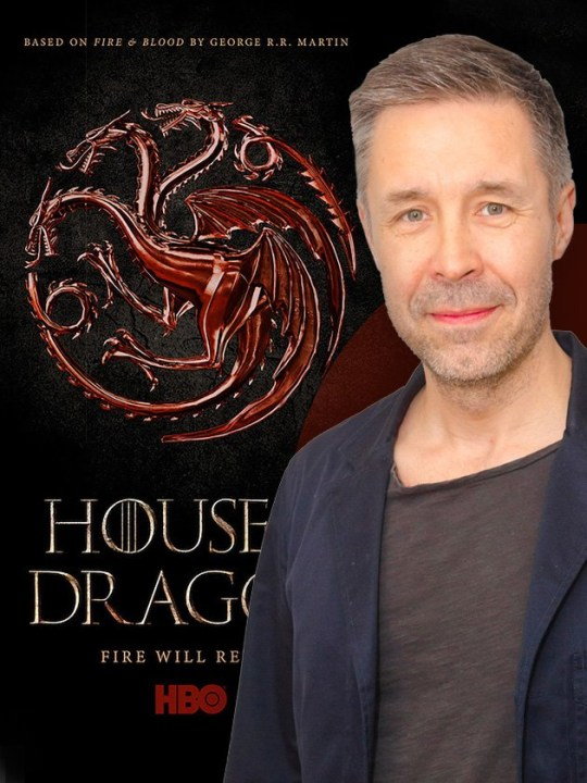 Paddy considine will be in House of the Dragon.