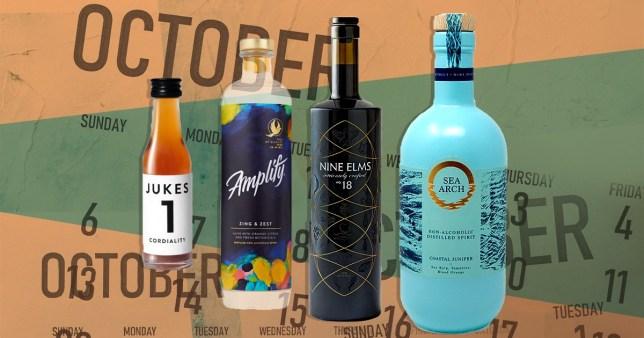 non-alcoholic booze options to see you through Sober October