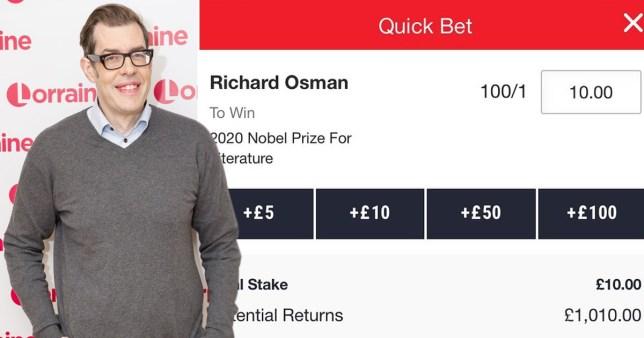 Richard Osman Nobel Prize