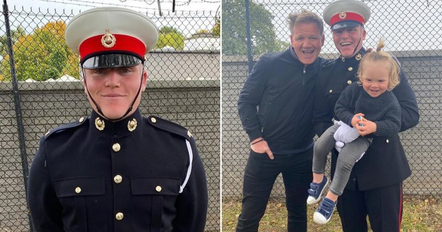 Gordon Ramsay and son Jack