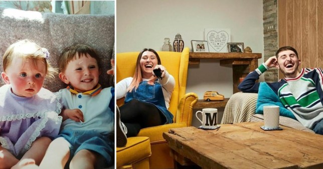 Gogglebox Pete and Sophie