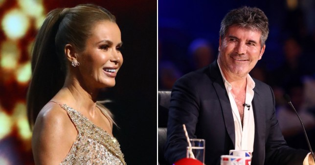 Amanda Holden pays tribute to Simon Cowell who missed BGT final