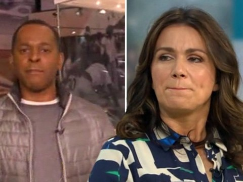 Susanna Reid tells off Andi Peters for 'being mean' to Laura Tobin on GMB's 'therapeutic Thursdays'