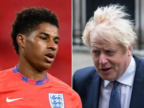 Boris Johnson rejects Marcus Rashford's plea to extend free school meals