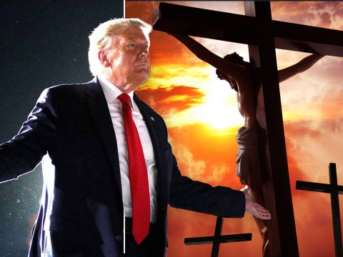 Donald Trump declares that the only person more famous than him is Jesus
