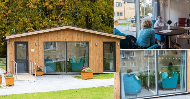 carehome builds covid-safe lodge