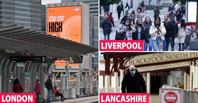 Half of England now living under tighter coronavirus restrictions