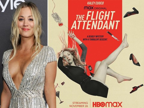 Big Bang Theory's Kaley Cuoco confirms official release date for The Flight Attendant