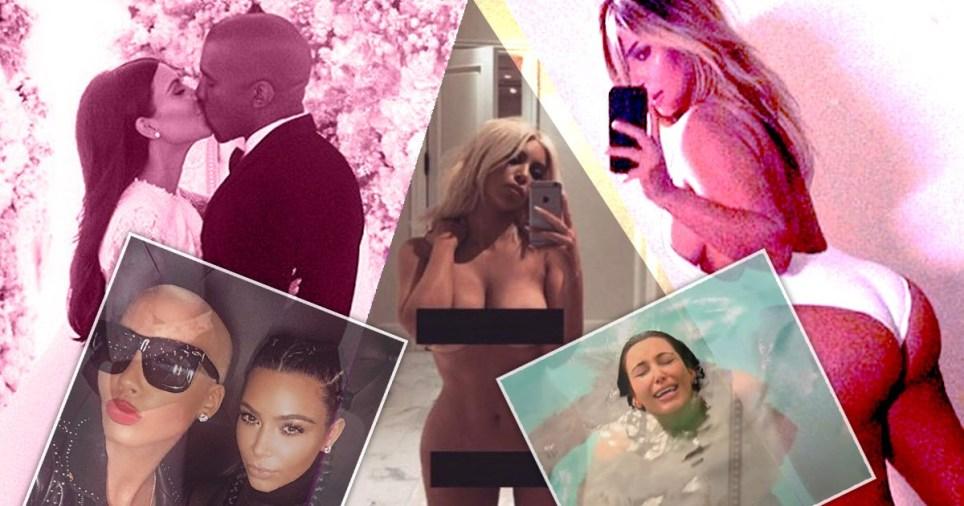 Kim Kardashian most iconic moments