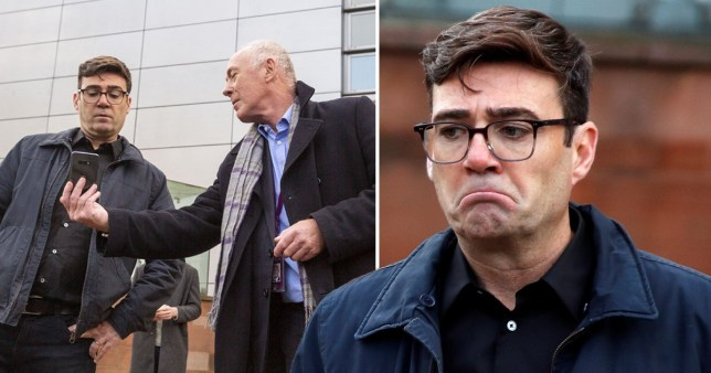 Andy Burnham reacted with shock after being told his region would only be awarded £22 million amid tier three restrictions.