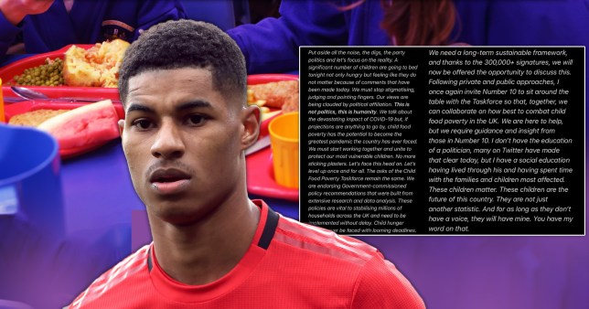 Marcus Rashford vows to keep fighting for kids in poverty after MPs vote down his free school meals plan with Labour.