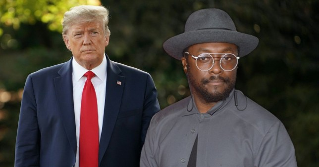 Donald Trump and will.i.am