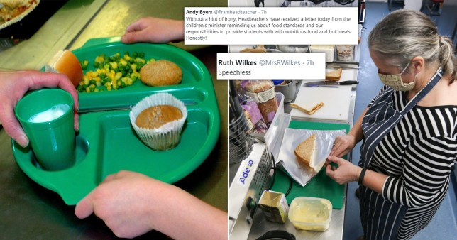 Headteachers have expressed their 'incredulity' at Government's letter encouraging them to provide hot school meals only days after the Government rejection a motion to provide school meals to children during the holidays