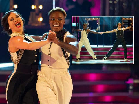 Strictly 2020: Fans cry happy tears as Nicola Adams and Katya Jones make history in first same-sex dance