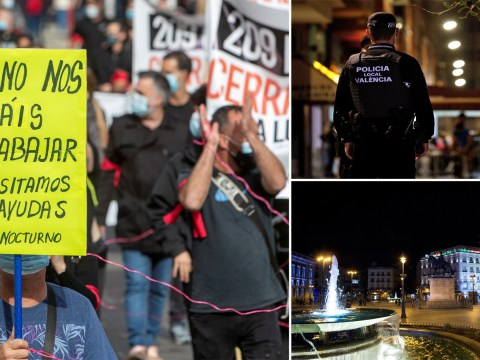 Spain set to declare six month state of emergency including overnight curfew