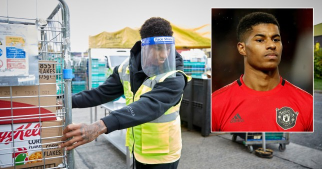 Marcus Rashford honoured with Pride of Britain award after fight to feed kids