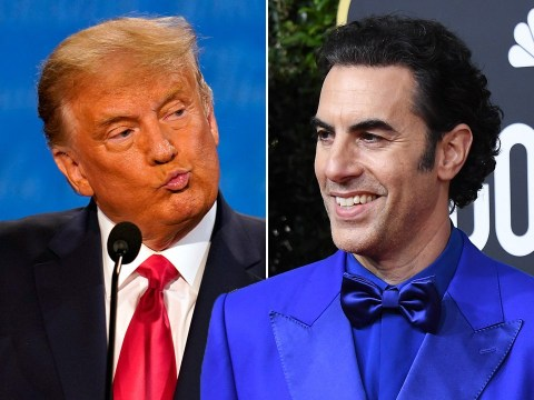 Sacha Baron Cohen thanks Donald Trump for the 'free publicity' as he slates comedian amid Borat 2