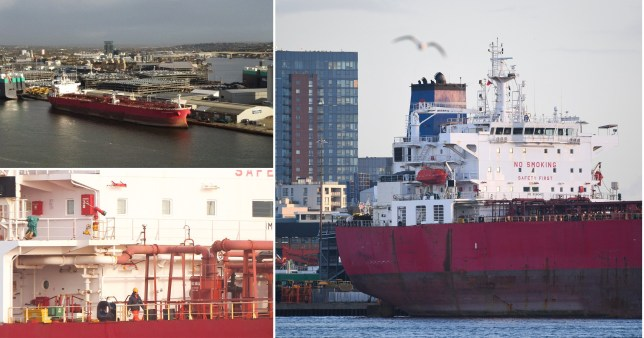Nave Andromeda was 'hijacked' on the approach to Southampton