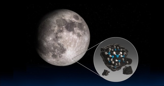 Hidden pockets of water on the moon could be hiding in the shadows