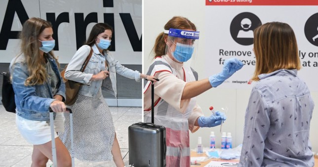 'No difference' in infection rates between holidaymakers and those staying home