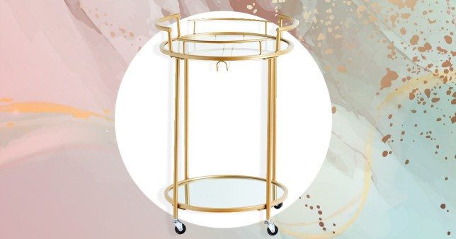 The Primark bar cart
