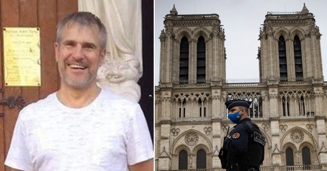 Vincent Loques, 45, was a sacristan of the Notre Dame basilica in Nice