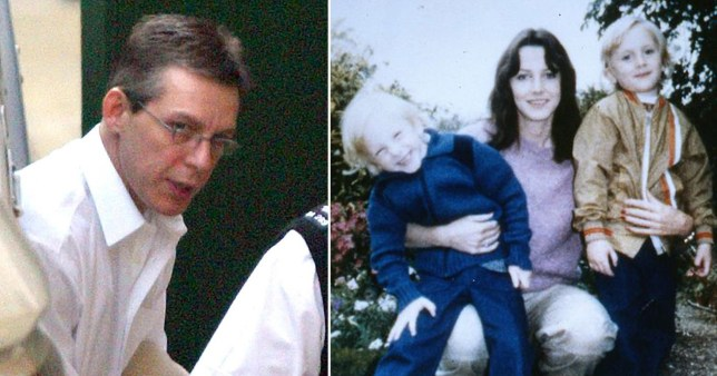 Jeremy Bamber and his family