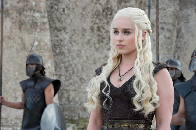 Game of thrones - Emilia Clarke as Daenerys