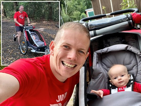 Baby born on original London Marathon date will complete 26.2 miles with her dad