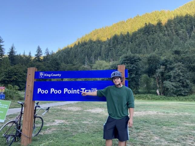 Ruben Lopez at Poo Poo Point, Washington.