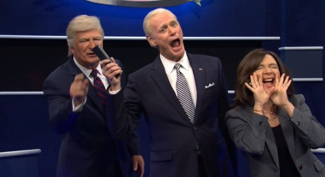 SNL Cold Open (Picture: NBC/Backgrid)